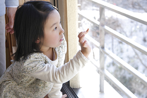 legal - child at window with window guards